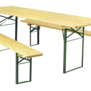 location table et banc brasserie